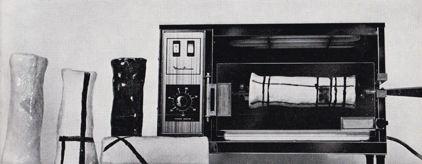 Michel Cardena, 'Cardena réchauffe Mondrian, Ives Klein et Malewitch' (1972-1973), collectie Keramiekmuseum Princessehof, Leeuwarden Rozenstraat